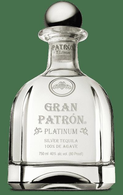 Bouteille de Gran Patrón Platinum