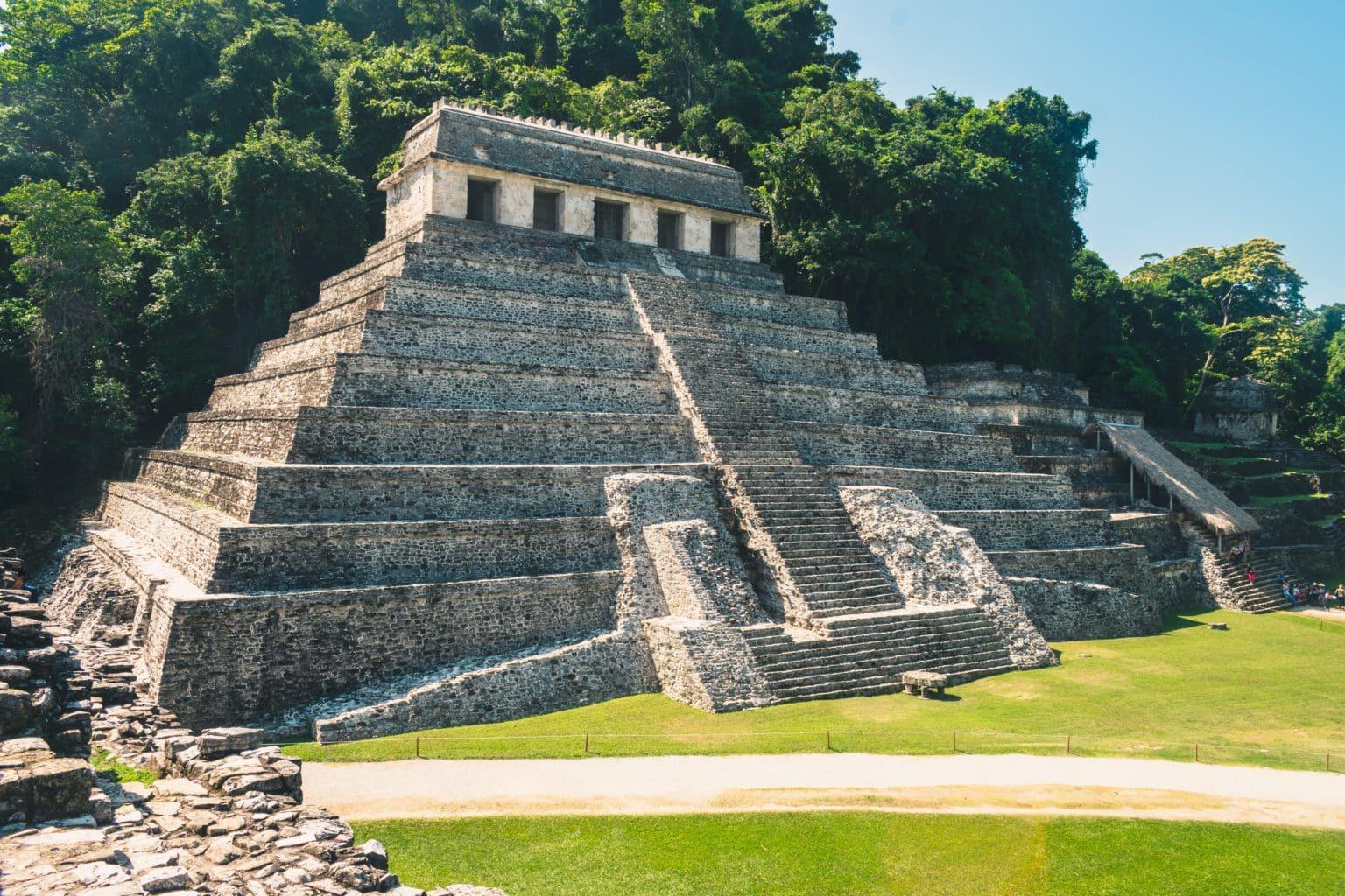 Vue sur les ruines de Palenque