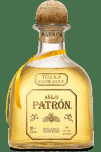 Bouteille de Patrón Añejo