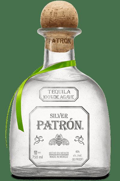 Bouteille de Patrón Silver