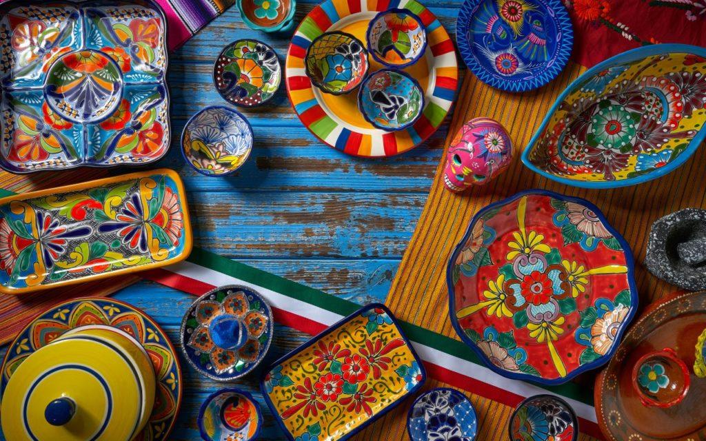 Exemple d'artisanat du Mexique