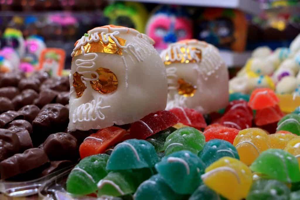 Crânes en sucre du Mexique
