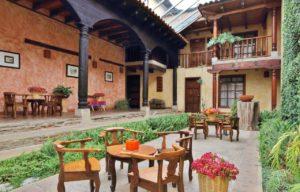 Vue sur l'hôtel Casa Vieja à San Cristobal de las Casas