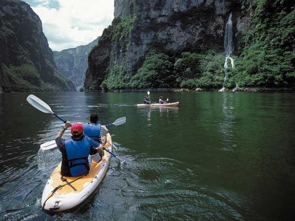 Balade en Kayak dans le Canyon del Sumidero
