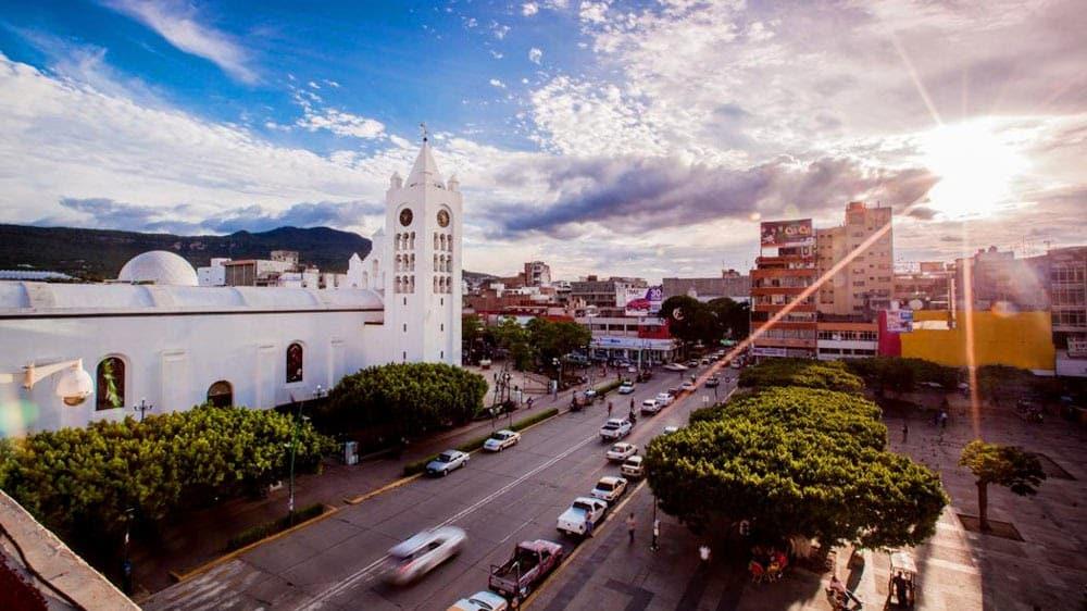 Vue de la ville de Tuxtla Gutierrez
