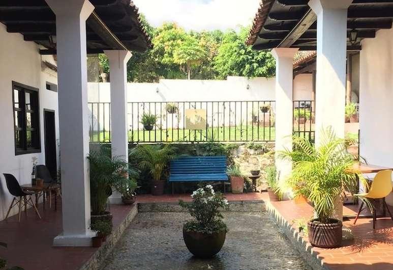 Vue de l'hôtel Casa Lobe