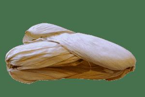 Feuilles de maïs séchées