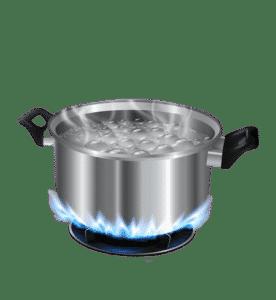 Casserole d'eau