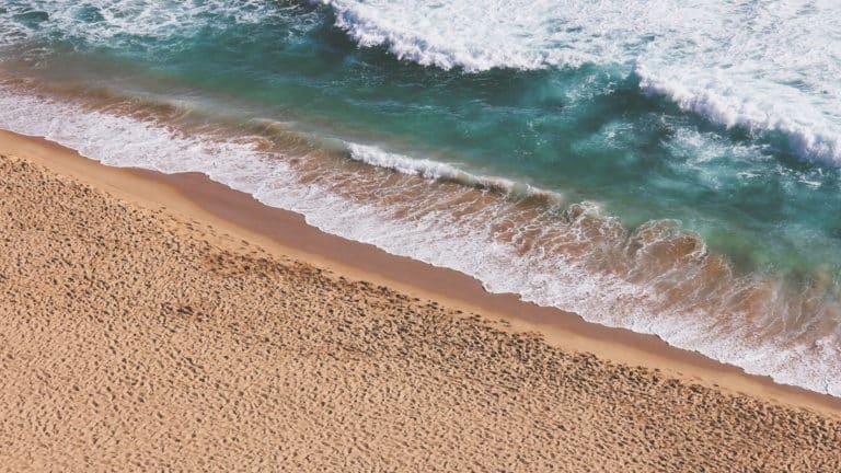 Vue sur la plage de Puerto Arista