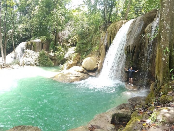 Vue des cascades de Roberto Barrios