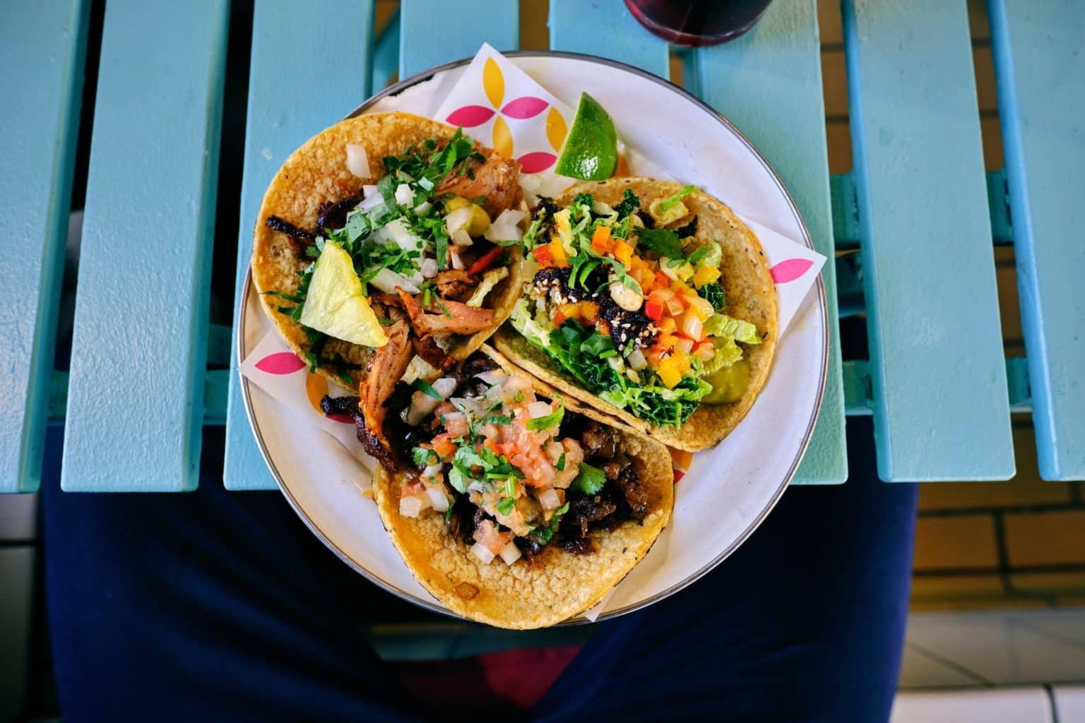 Image d'un plat de tacos mexicain