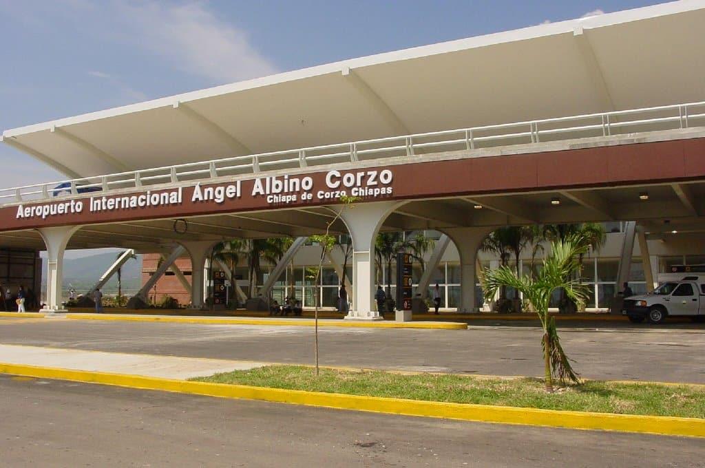 Vue de l'aéroport de Tuxtla