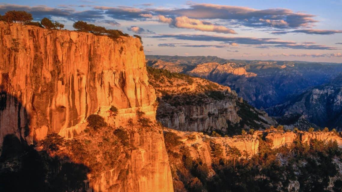 Vue sur le Canyon du cuivre