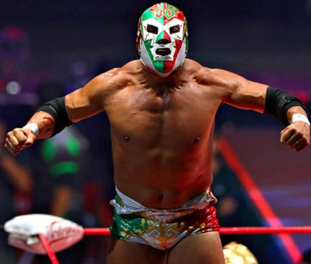 Lutteur de lucha Libre au Mexico
