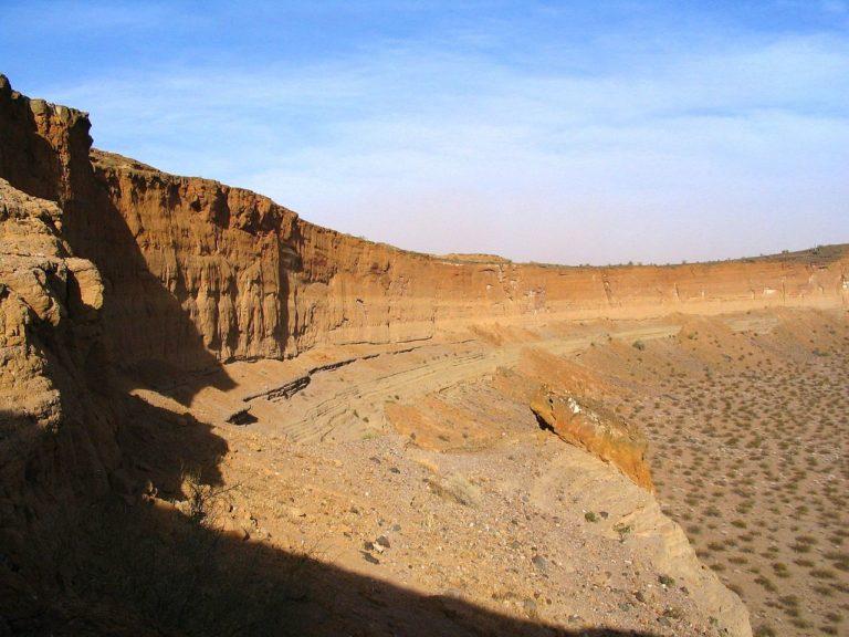 Vue de la réserve de biosphère El Pinacate