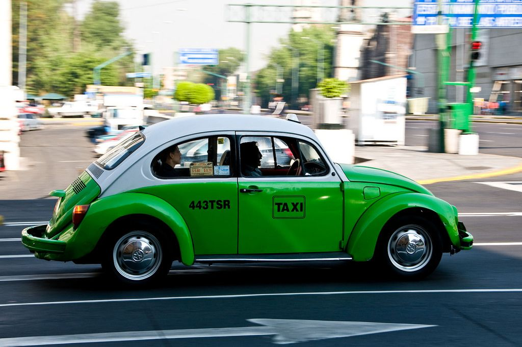 Taxi à Mexico