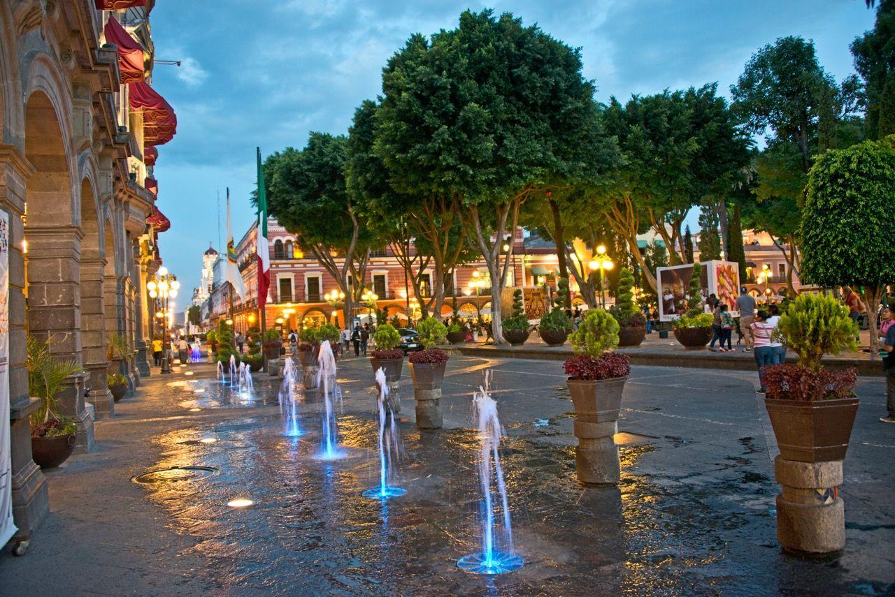 Centre ville de Puebla