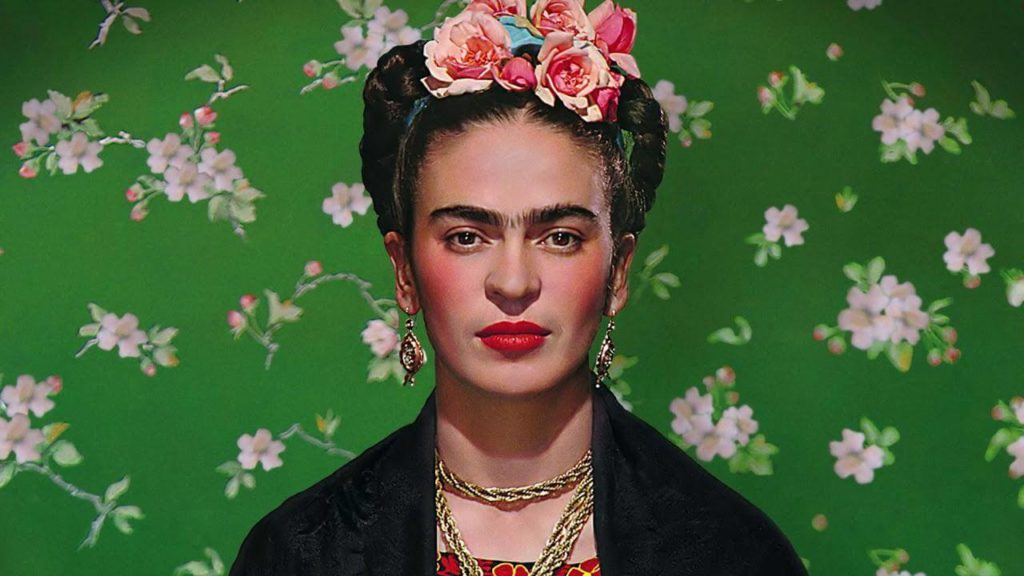 Portrait Frida-Kahlo