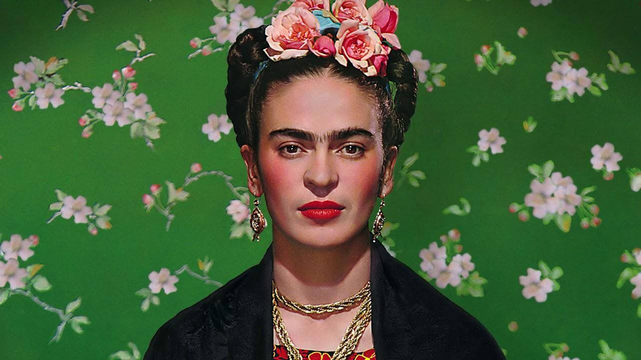 Portrait Frida-Kahlo