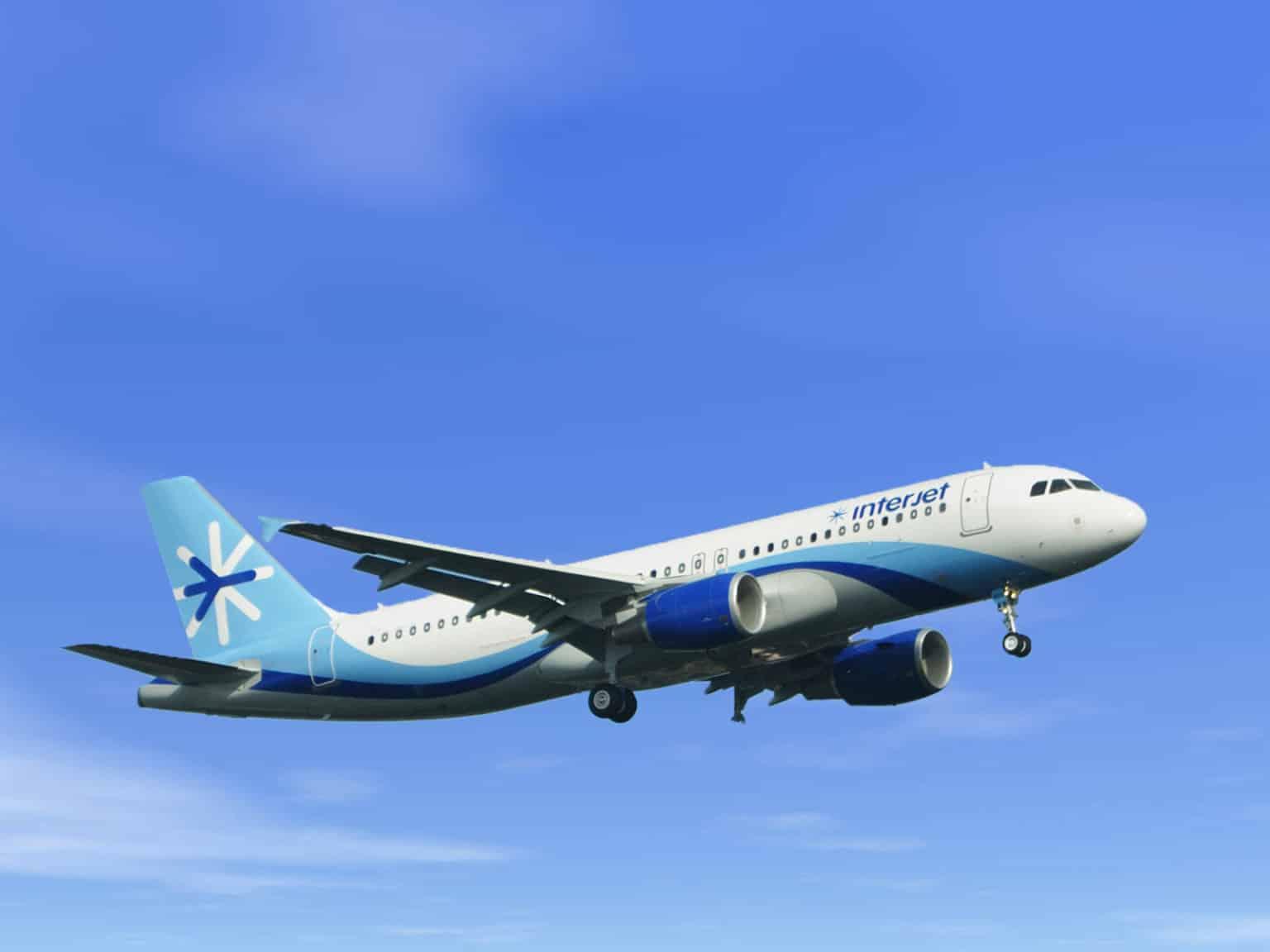 Avion Interjet au Mexique