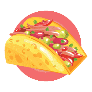 Tacos Flat Design