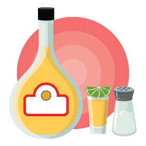 Tequila Flat Design