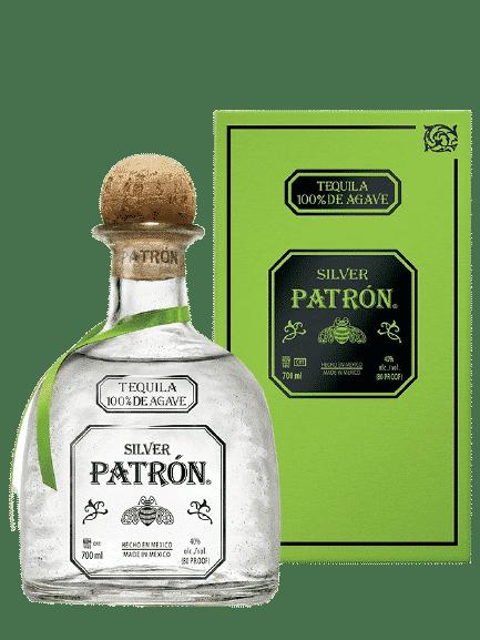 Bouteille de PATRON Silver 40%