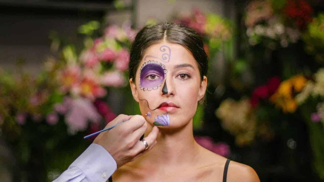 Maquillage « Dia De Los Muertos » du Mexique !
