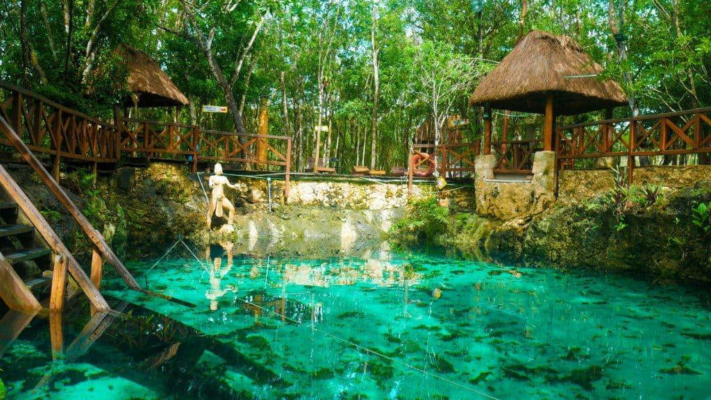 Cenote du Mexique
