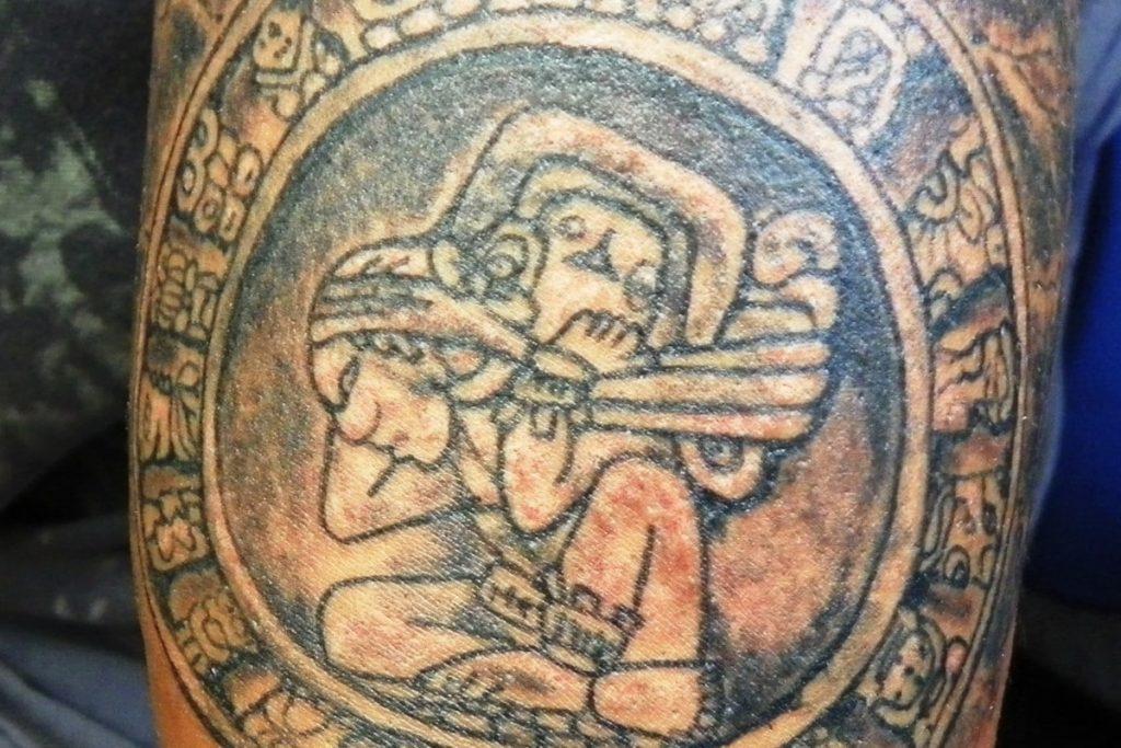 Tatouages aztèques